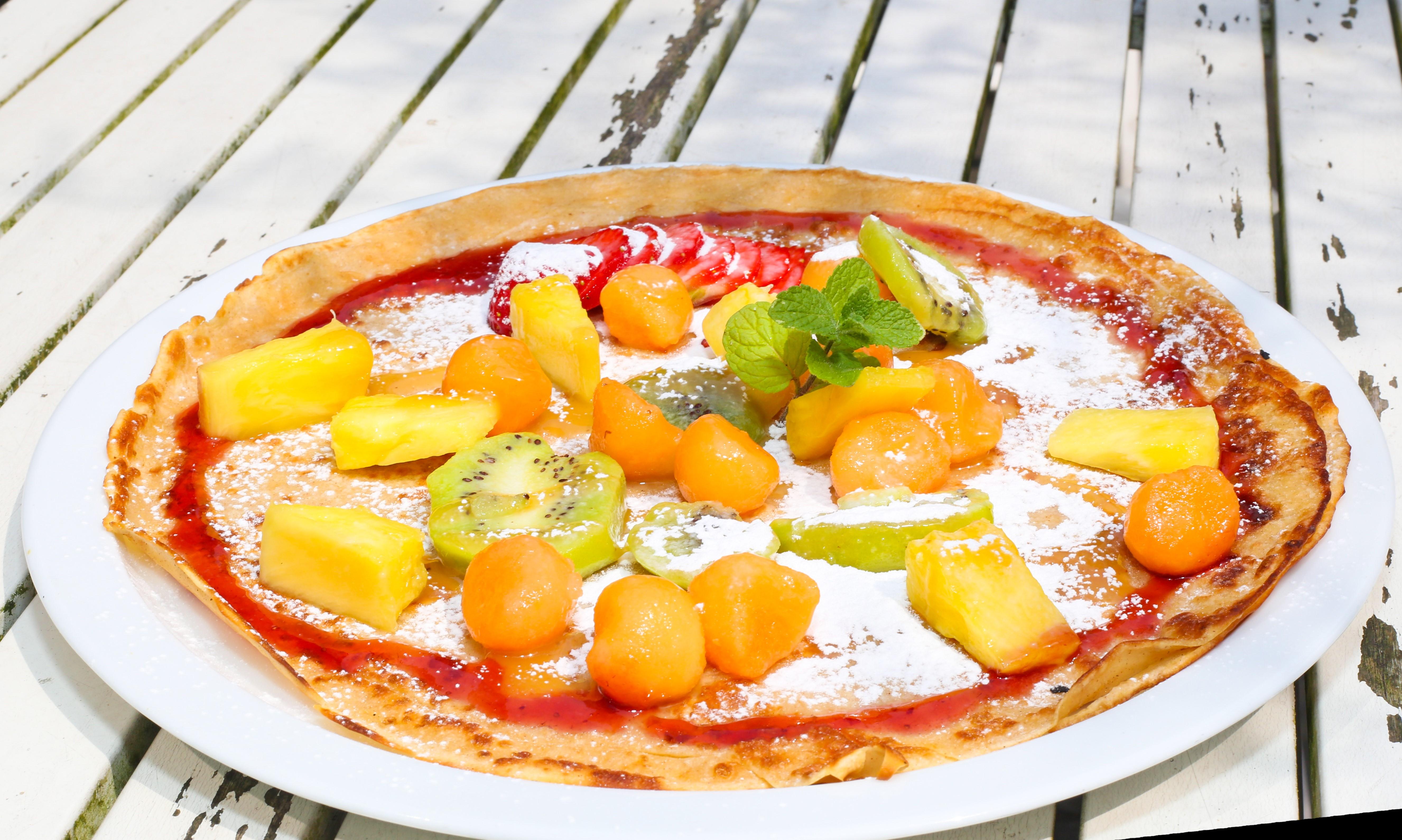 Healthy Fruit Pancake