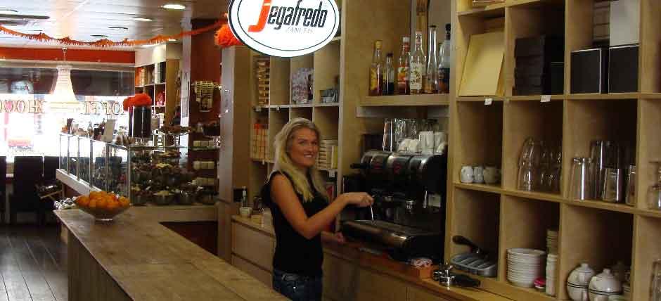 Absoluut de beste Italiaanse koffie serveren wij van Segafredo